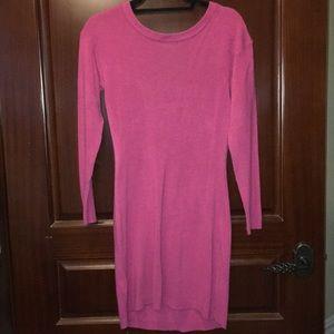 BCBG Generation Pink Sweater Dress